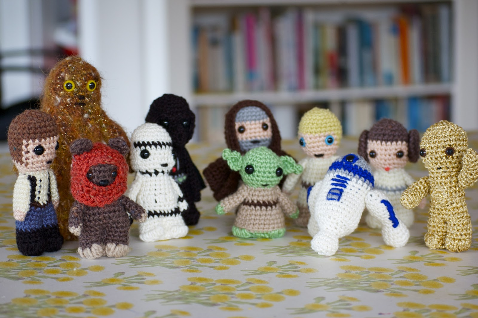 Amigurumi Star Wars Patterns : Greedy for colour: crochet star wars . that's right!!!