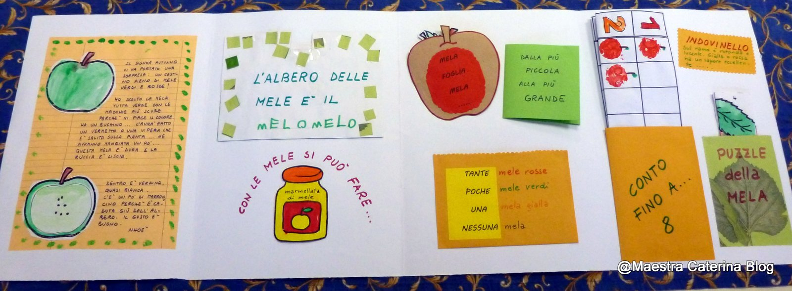 Bien connu Maestra Caterina: Autunno: Lapbook della Mela HH66