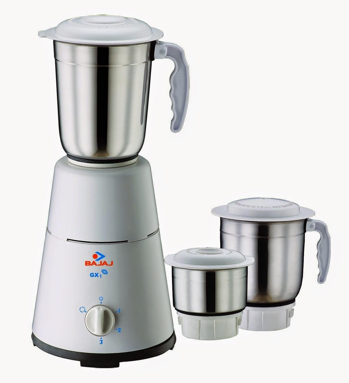 Flipkart: Buy Bajaj GX-1 500-Watt Mixer Grinder at Rs.1449