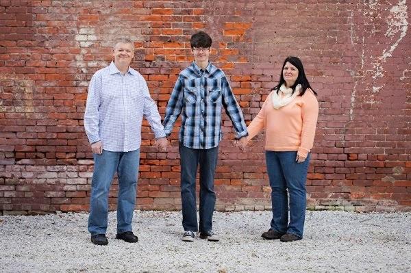 Kay, Matt and me