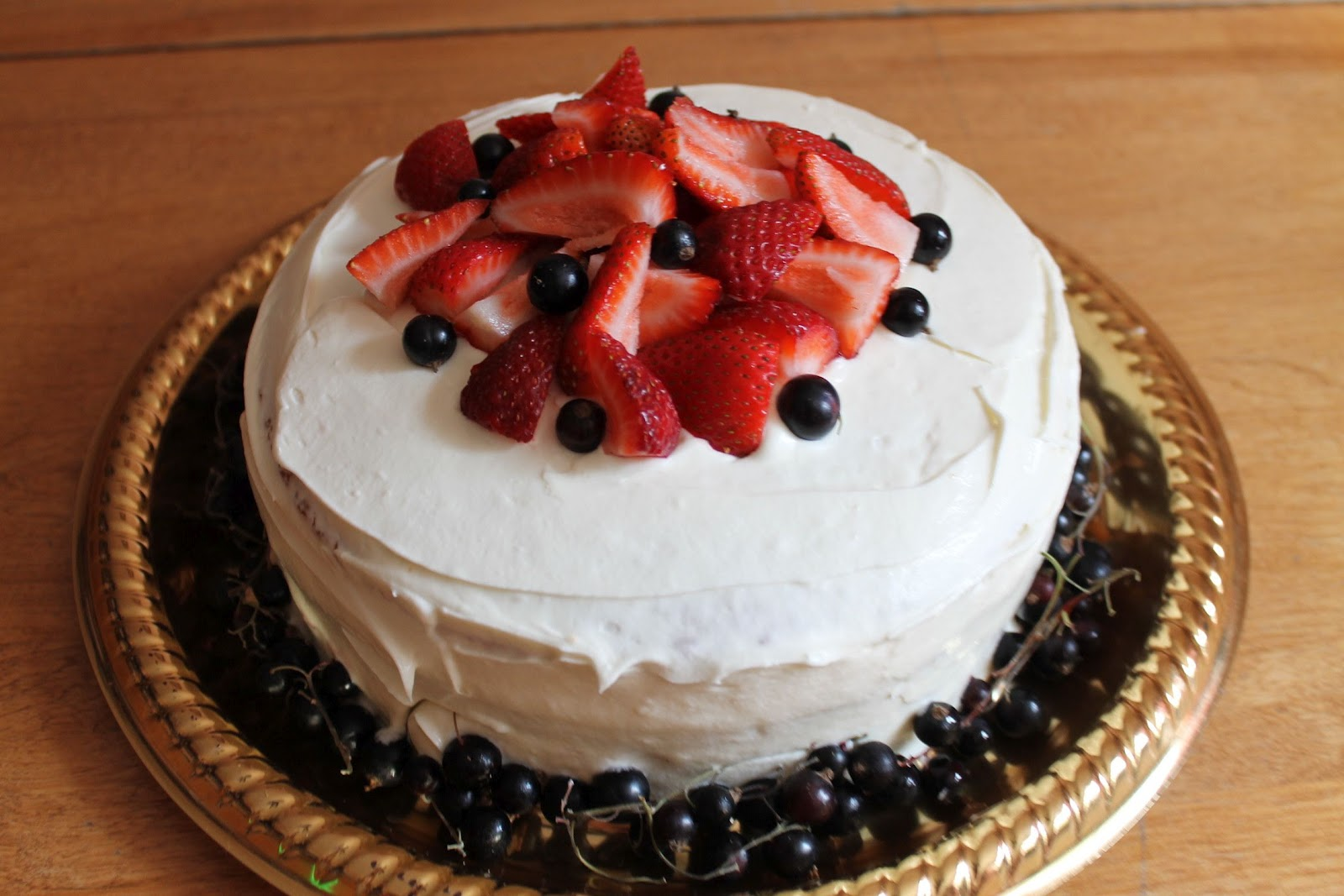 ai du faire un gâteau rapido presto et voilà ce que j'ai ...