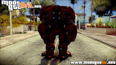 SA - Skin Hulkbuster Iron Man v1