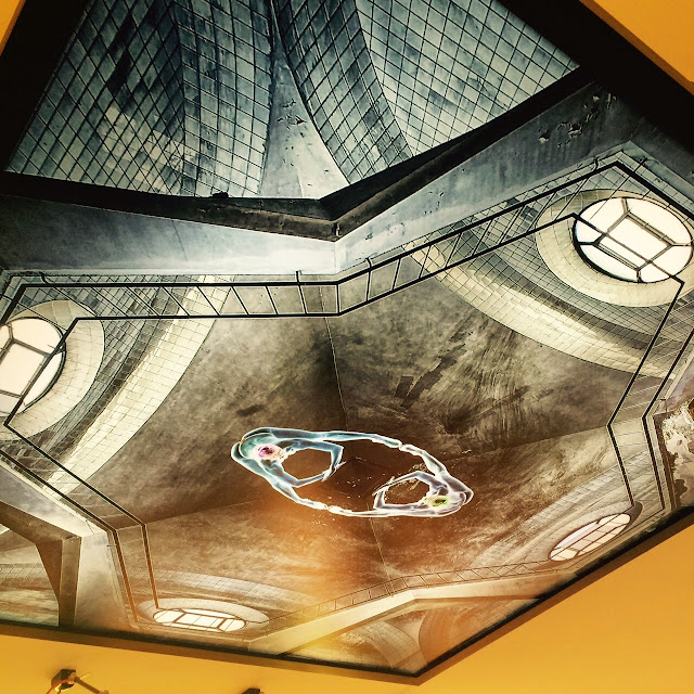 Clorofila Digital made this awesome ceiling lamp