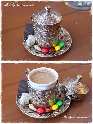 Hasankeyf'te içilen hilve kahvesi