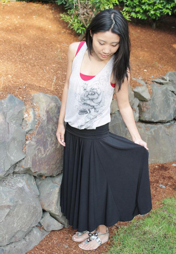 fashion blog post - comfy summer style
