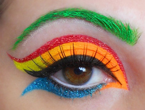 Colorful Eye Makeup