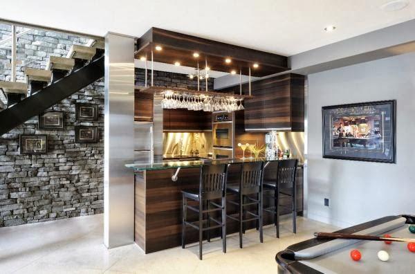 Inspiracion a la hora de montar un bar en casa decoraci n - Ideas para montar un bar ...