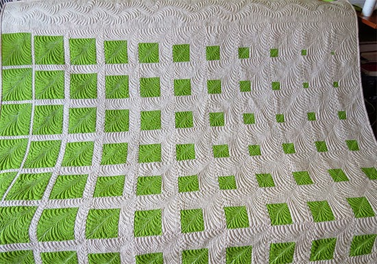 Two Color Quilt Pattern