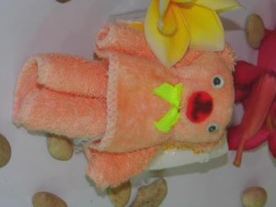 Kreasi Towel Craft Teddy Bear