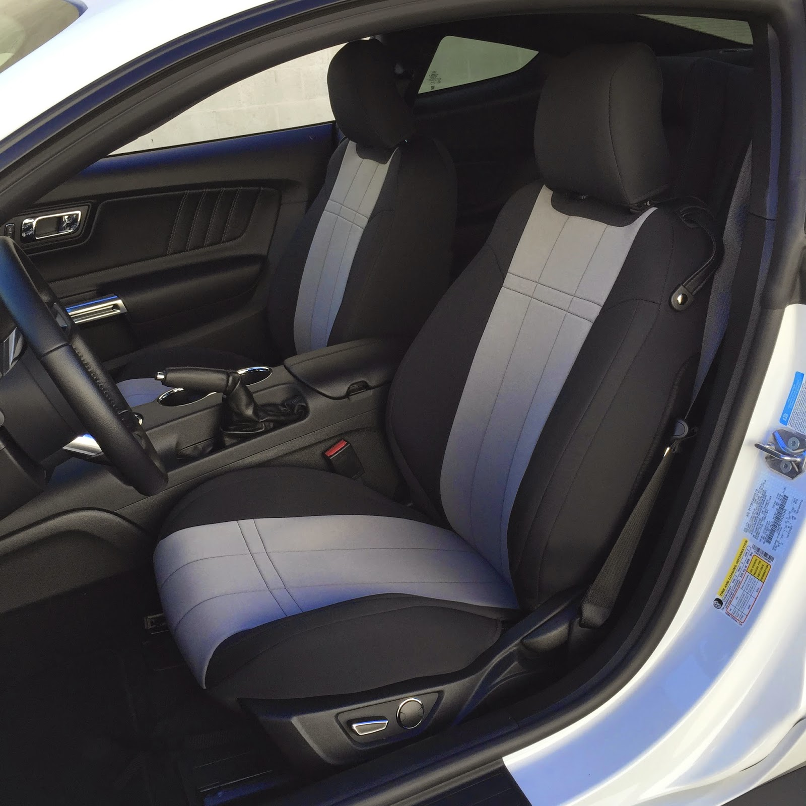 Protect The Ford Mustang Factory Seats With Custom Fit Seat Covers From Cal Trend We Went A Set Of Popular Neo Supreme