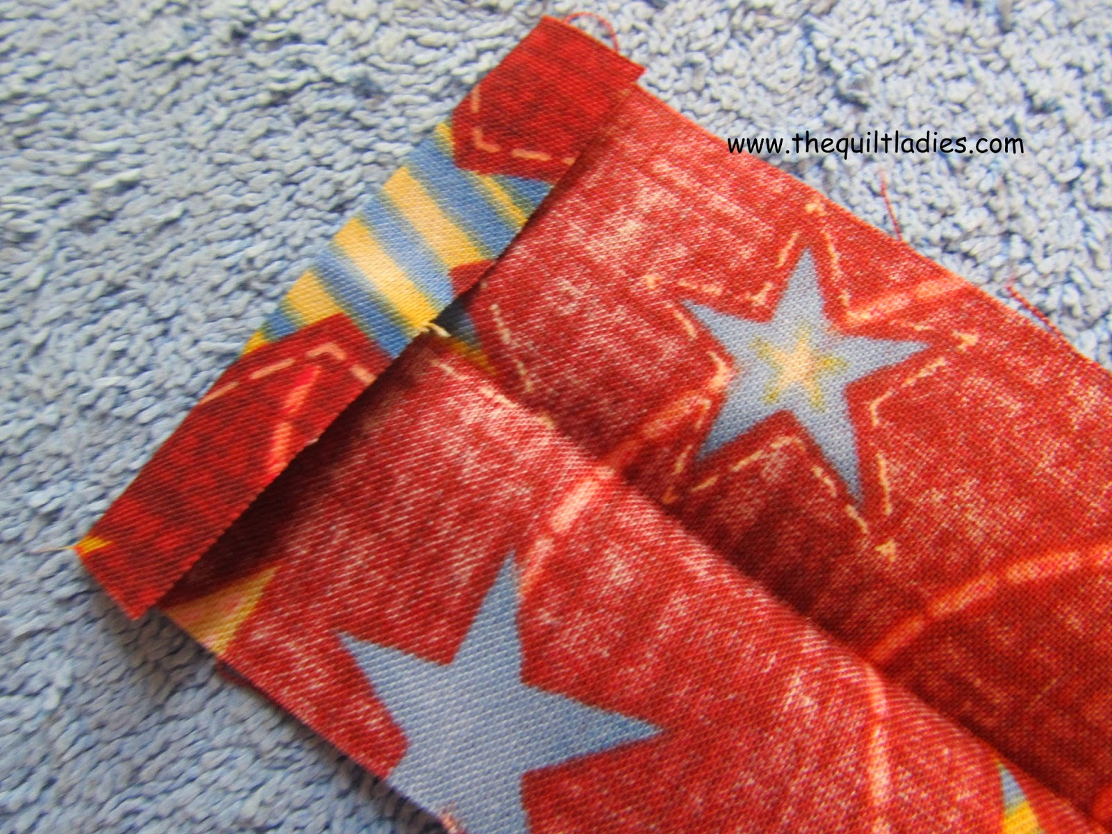 learn how to quilt 45 degree binding