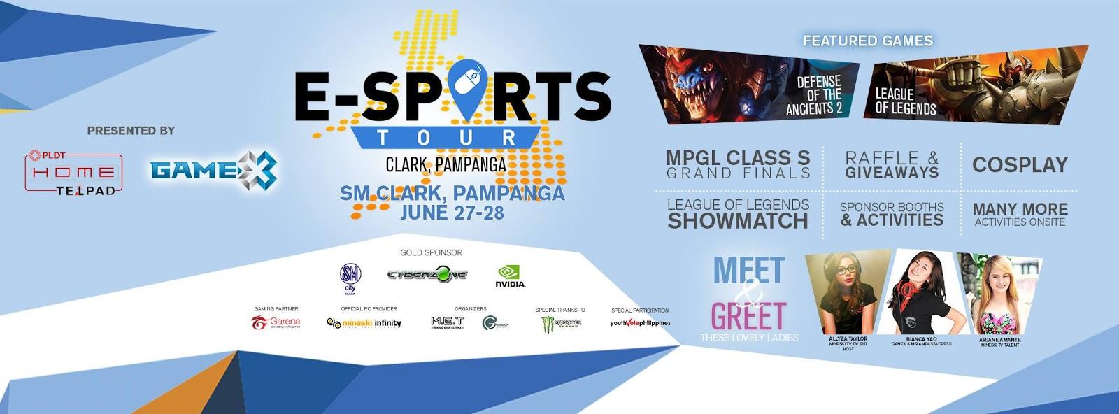 E-Sports Tour 2015