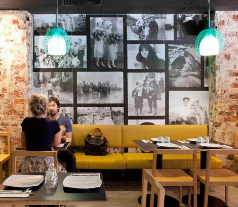Pizzeria in Perth Inspired by 70's Style Interior Design | DZine Trip