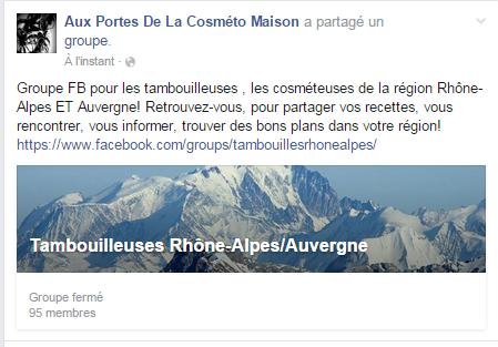 groupe FB Tambouilleuses en Rhône-Alpes Auvergne