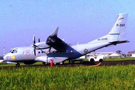 Pesawat CN 235 220 NG MPA TNI AL. Prokimal Online Kotabumi Lampung Utara