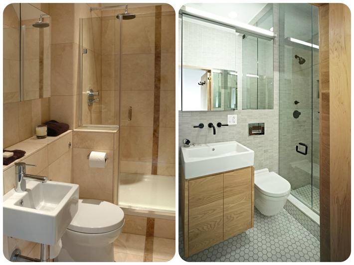 Gabinete Para Banheiro Decoracao de banheiros pequenos e modernos -> Decoracao De Banheiros Modernos Pequenos