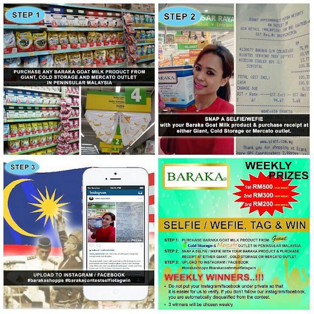 Baraka Selfie, Wefie, Tag & Win