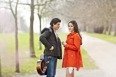 Jab Tak Hai Jaan 2012 Movies Shahrukh Khan and Katrina Kaif Wallpapers
