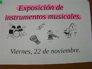 Exposición Santa Cecilia CEIP Sebastián Martín. Montehermoso