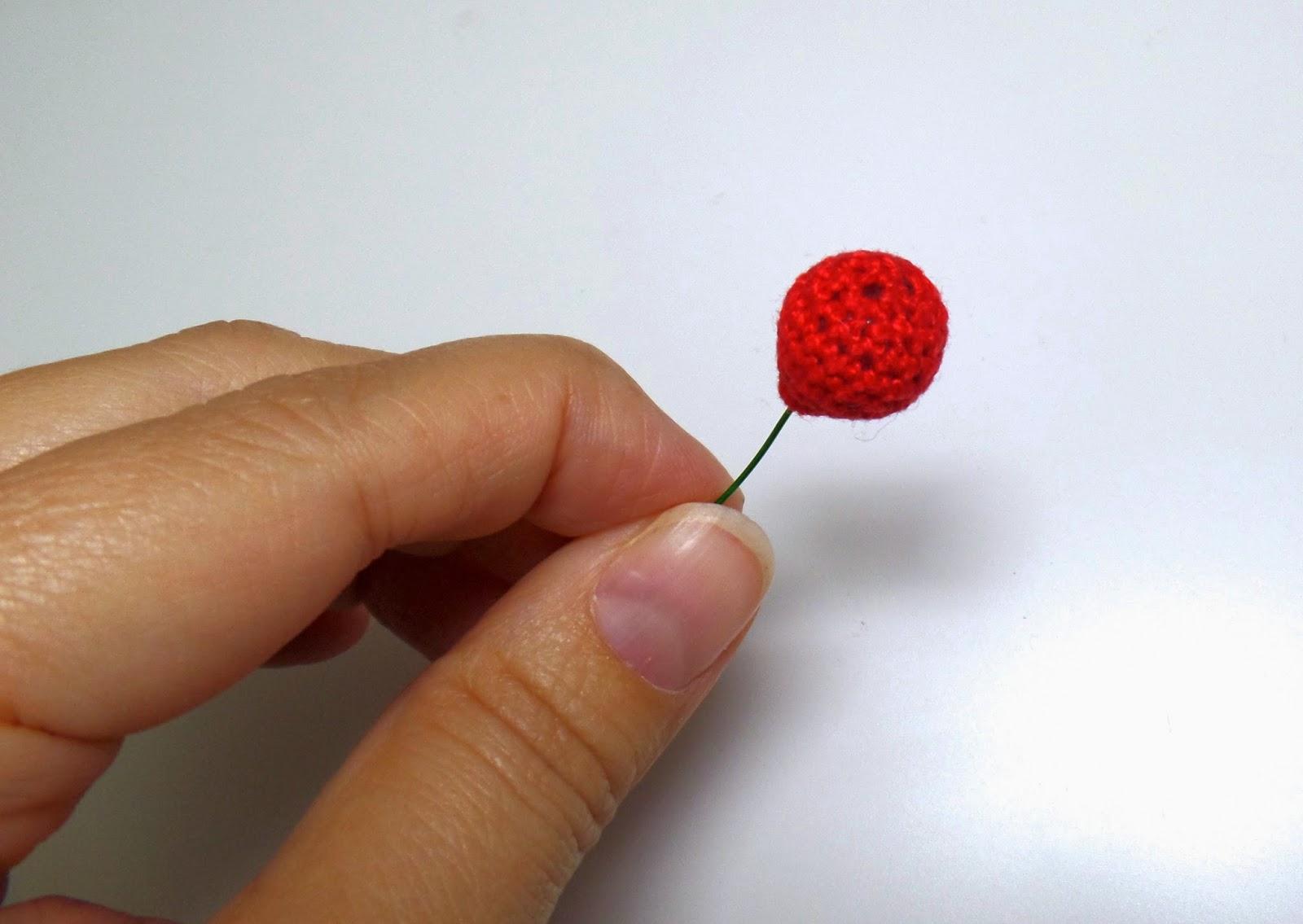 cherry earrings how to make