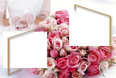 Fazendo a minha Montagem: Molduras para Casamento Gratis