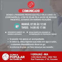 CLINICA POPULAR DA FAMÍLIA