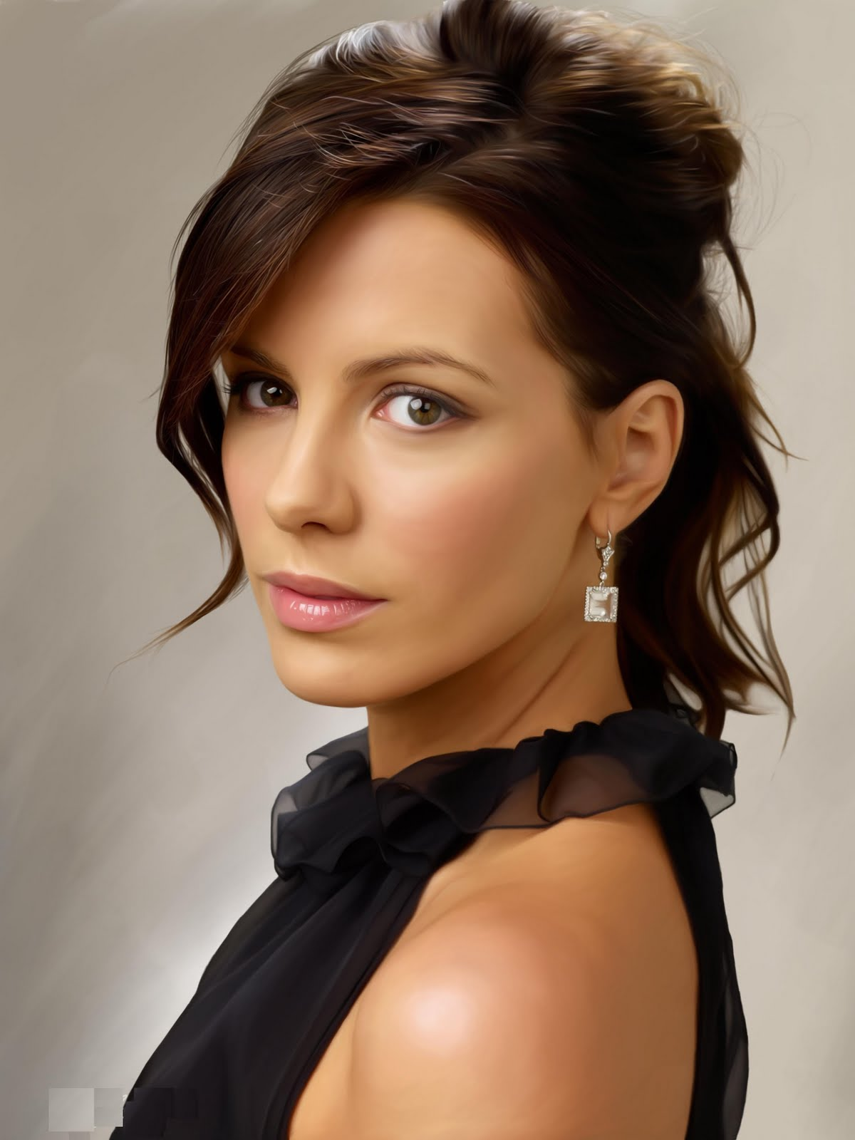 Fresh Look Celebrity Kate Beckinsale Hairstyles 09