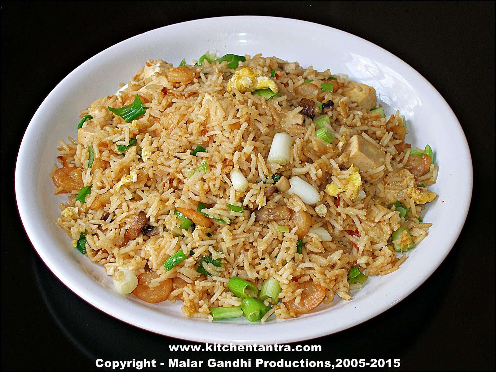 Indo-Chinese Fried Rice: