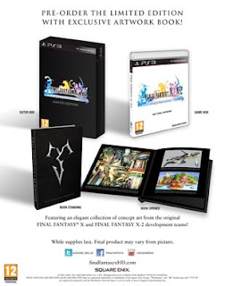final fantasy x and x 2 hd remaster limited edition europe Final Fantasy X | X 2 HD Remaster (PS3/PSV)   Limited Edition Announced