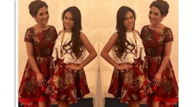 Foto Kebaya Kembar Ashanty dan Aurel Hermansyah Model Terbaru