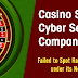 Casino Sues Cyber Security Company Over Failure to Stop Hackers