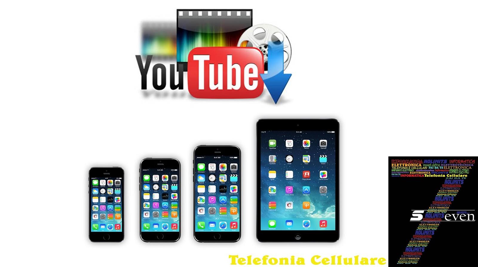 come scaricare musica da youtube su iphone 5s