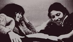 Liane (kalu dos 70 exilada em Paris) e Leila Simões