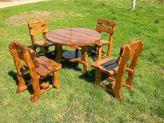 Cativa artesanato mesas e cadeiras de madeira para jardins for Gloria arredo giardino
