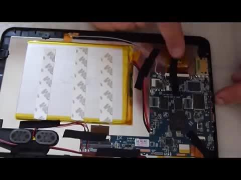 Séparation des nappes de composantes de tablette