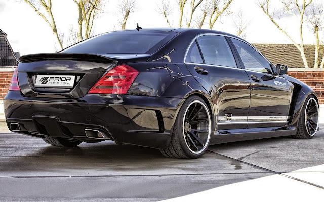 w221 all black