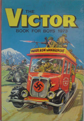 Victor Book for Boys, annual, 1973