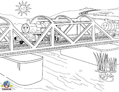 Thomas tank coloring pictures for kids to print out and color Thomas the train Percy the tank engine