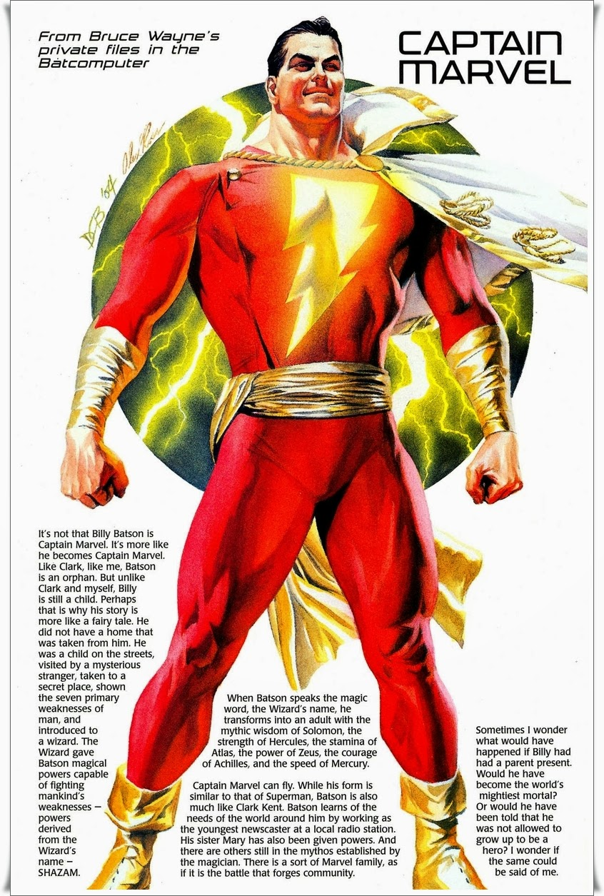 SHAZAM The Captain Marvel Story