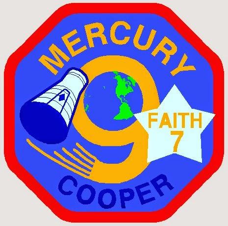 Insignia de la misión Mercury 9
