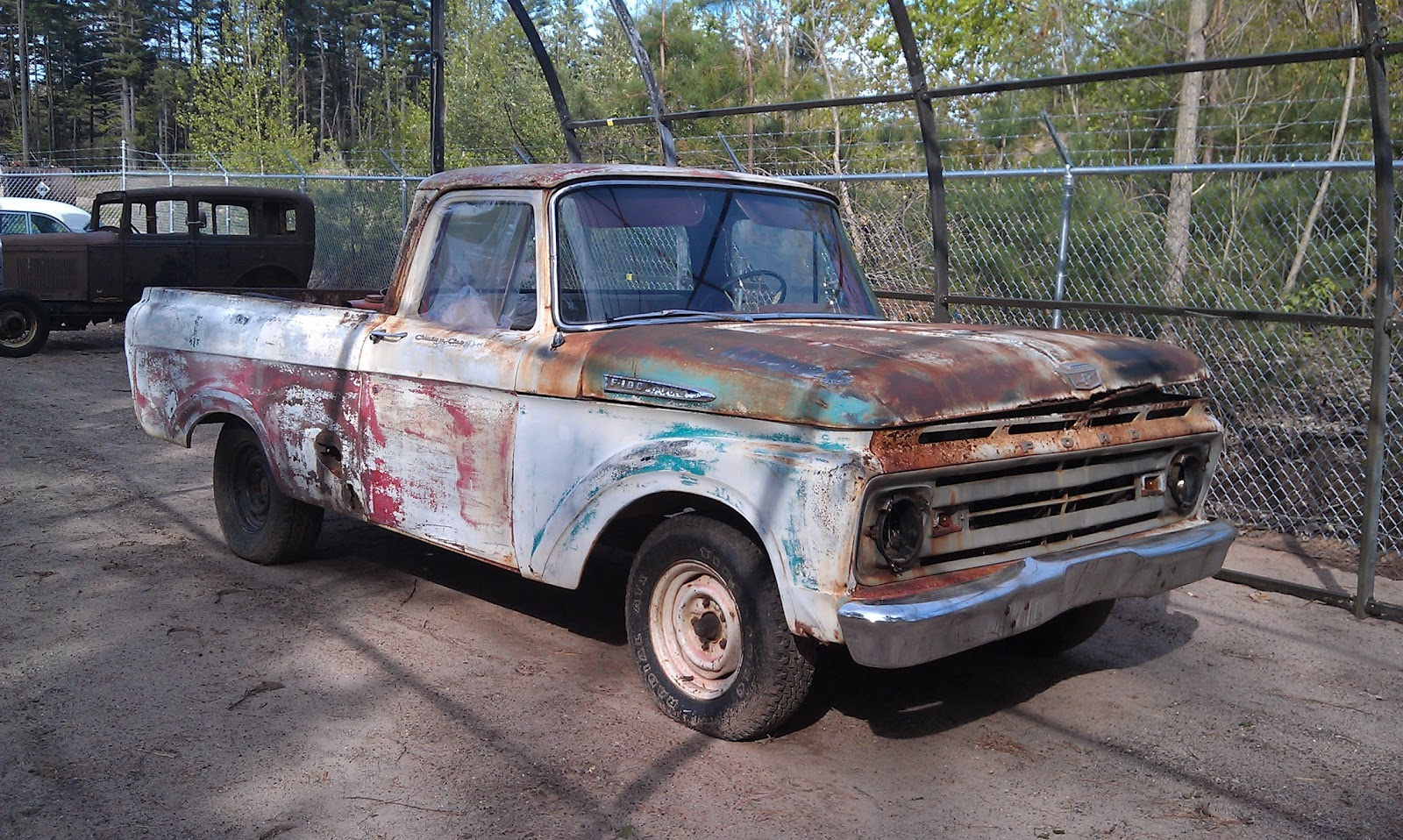 up for sale is this 1962 ford f100 unibody custom cab short bed this