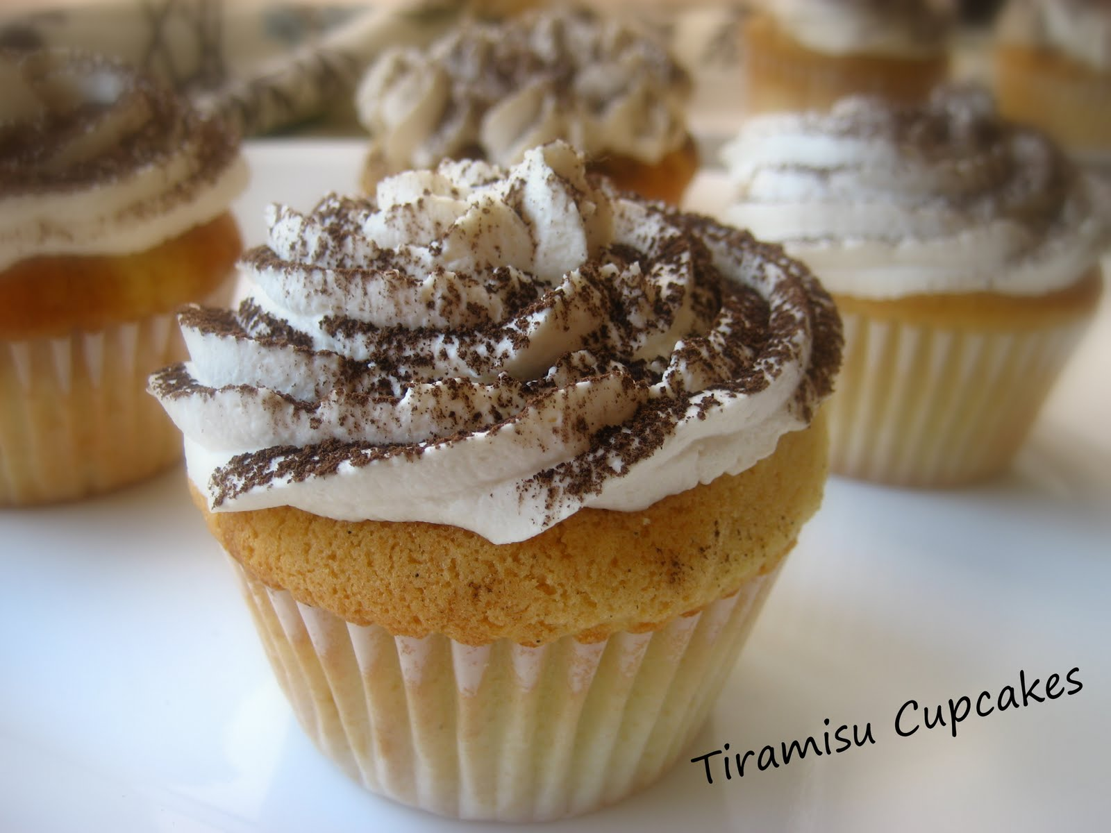 ... Cooking In Montana: Tiramisu Cupcakes...and Vanilla Cupcake Recipe