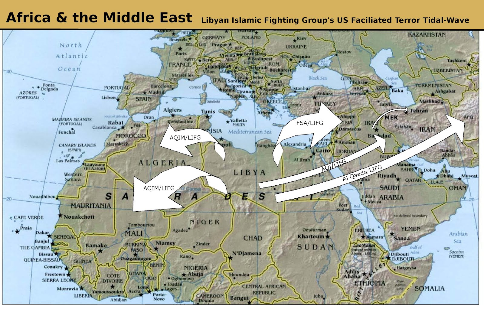 image click image to enlarge truly nato s intervention in libya has been a resounding success not only has the west managed to revive the terrorist lifg