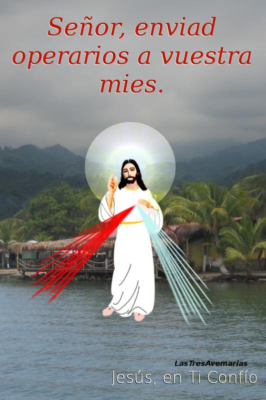 cristo jesus en el mar