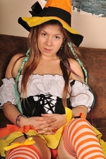 Cute teenage witch Emily 18