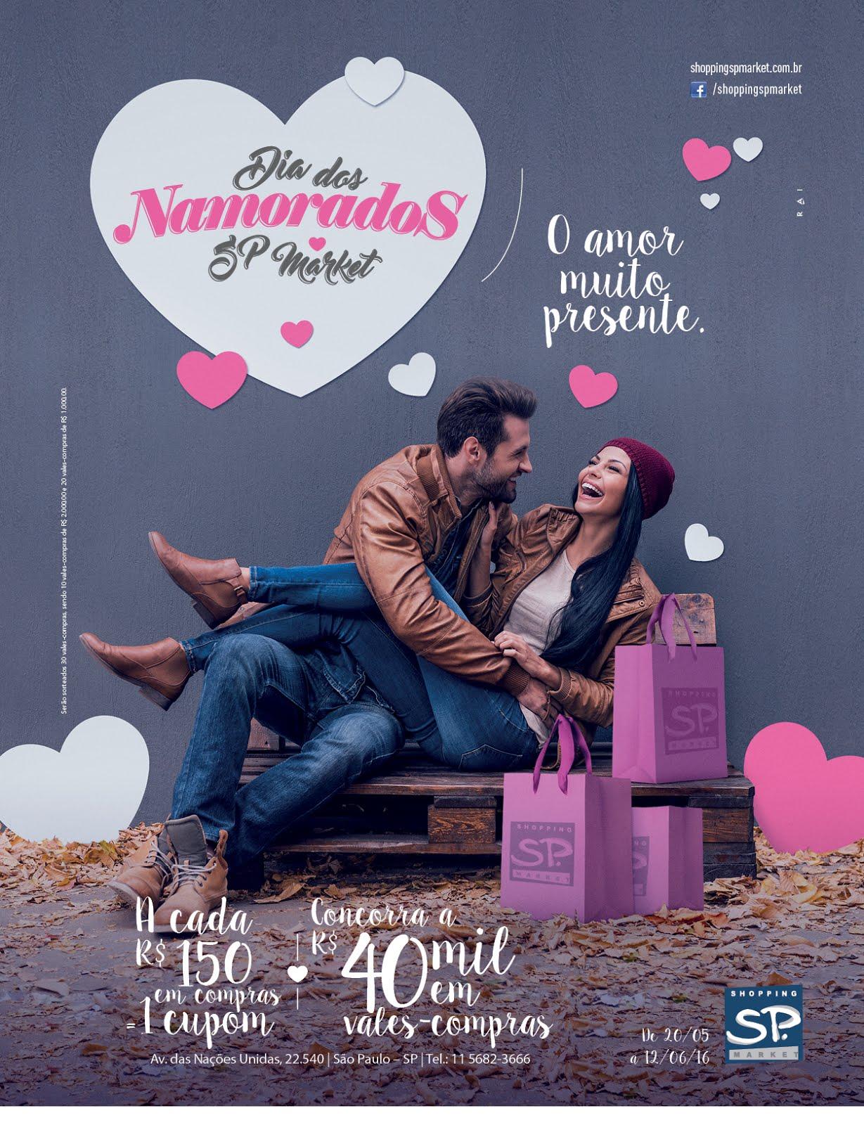 A data mais romântica do ano está chegando, e ela vai ser cheia de surpresas  no Shopping SP Market. No dia dos Namorados, nada melhor do que presentear  a ... 47ced9e445