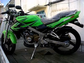 New Kawasaki Ninja 150 N, SS 2012