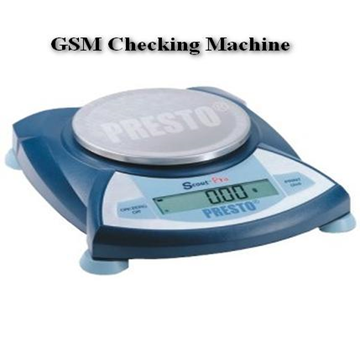 GSM checking machne