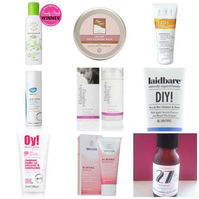 Budget Friendly Natural & Organic Facial Cleansers for under £10