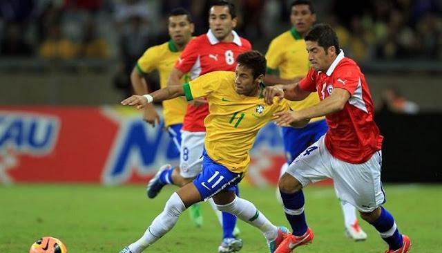 Ver partido Chile vs Brasil en vivo